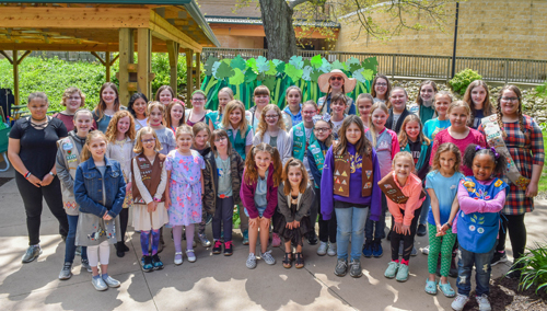 2019 Girl Scout Pearl Ceremony