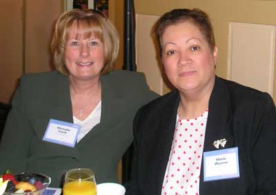 Maria Wonya and Michelle Cepik of the Cleveland Clinic