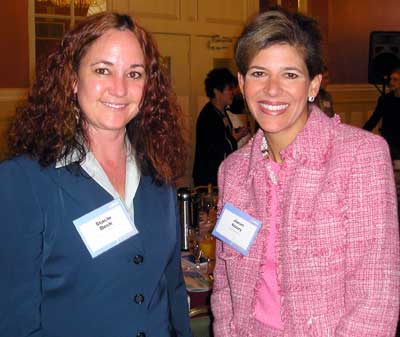 Stacie Beck and Janet Koury