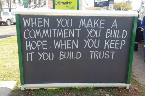 commitment - hope
