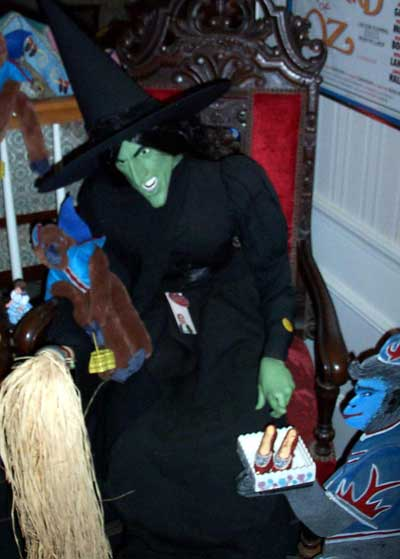 Wicked Witch of the West from Wizard of Oz