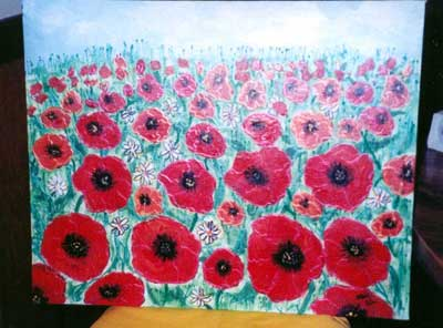 Poppy fields from the Wizard of Oz