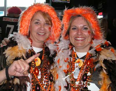 Female Browns fans