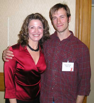 Margaret Bobonich with Brandon Bellinger of Survivor Guatemala