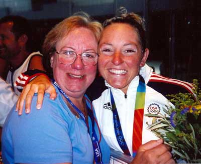 Diana Munz with proud mother Carol Munz
