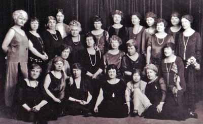 The Founding Sisters of the Zonta Club