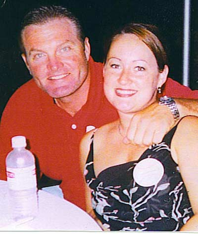 Kate and Eric Wedge in 2002